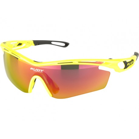OKULARY RUDY PROJECT TRALYX YELLOW FLUO + BLACK