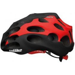 KASK rowerowy Catlike Mixino czarno czerwony