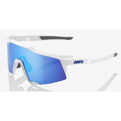 Matte white- HiPER Blue Multilayer Mirror Lens