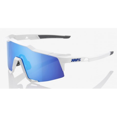 Matte white- HiPER Blue Multilayer Mirror Lens