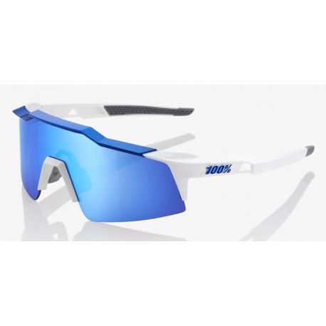 Okulary 100% SPEEDCRAFT SL Matte White/Metallic Blue
