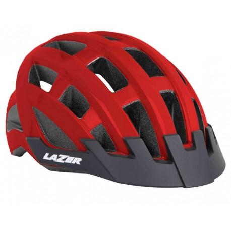 Kask rowerowy Lazer Compact Red czerwony