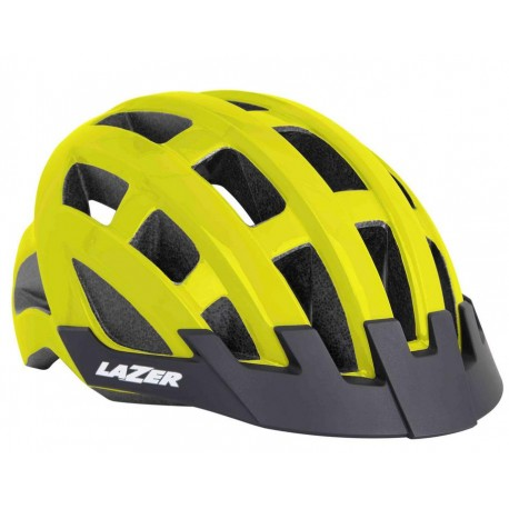 Kask rowerowy Lazer Compact Flash Yellow