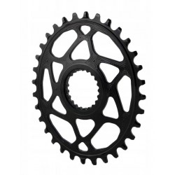 AbsoluteBlack Oval SRAM Direct Mount 34 zęby czarna