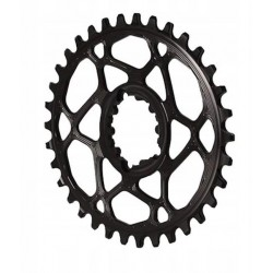 AbsoluteBlack Oval SRAM Direct Mount 26 zęby czarna