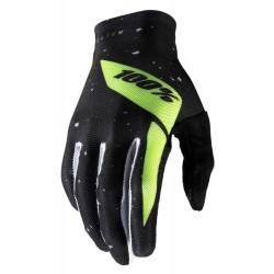Rękawiczki CELIUM 100 % black fluo yellow