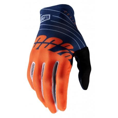 Rękawiczki CELIUM 100 % navy orange