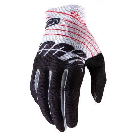 Rękawiczki CELIUM 100 % biało czarne
