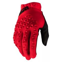 Rękawiczki 100% GEOMATIC czerwone